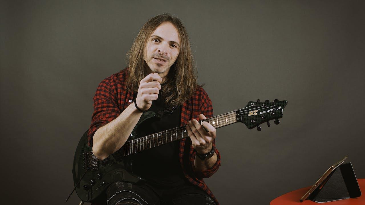 Guitarra Metal - Cómo ganar velocidad (parte 3)