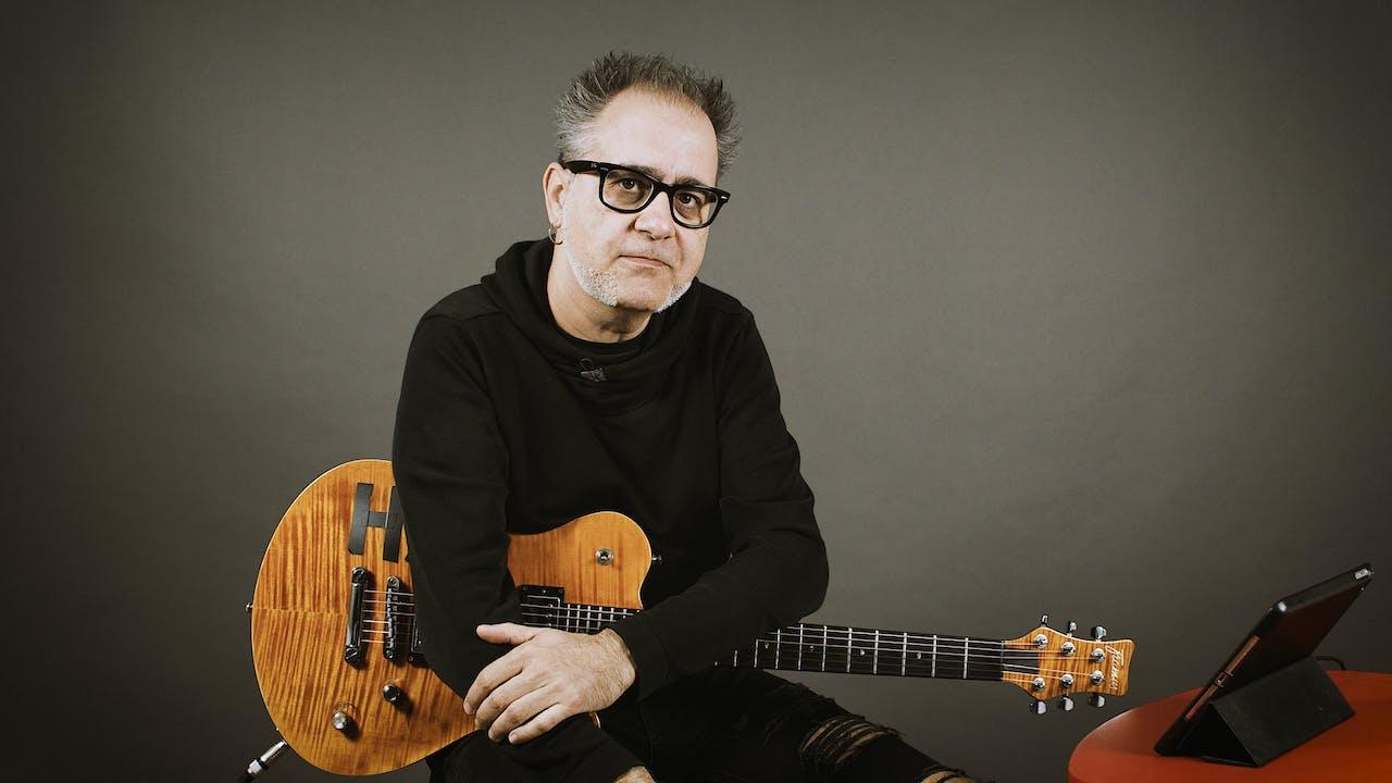 Guitarra Rítmica 1 - Ejemplos reales con power chords (corcheas)